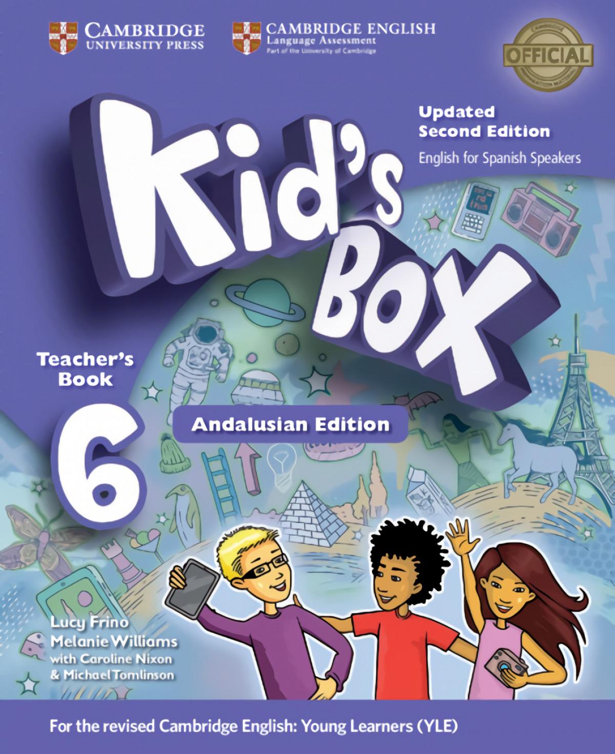 Kid's Box Level 6 Teacher's Book Updated English for Spanish Spea