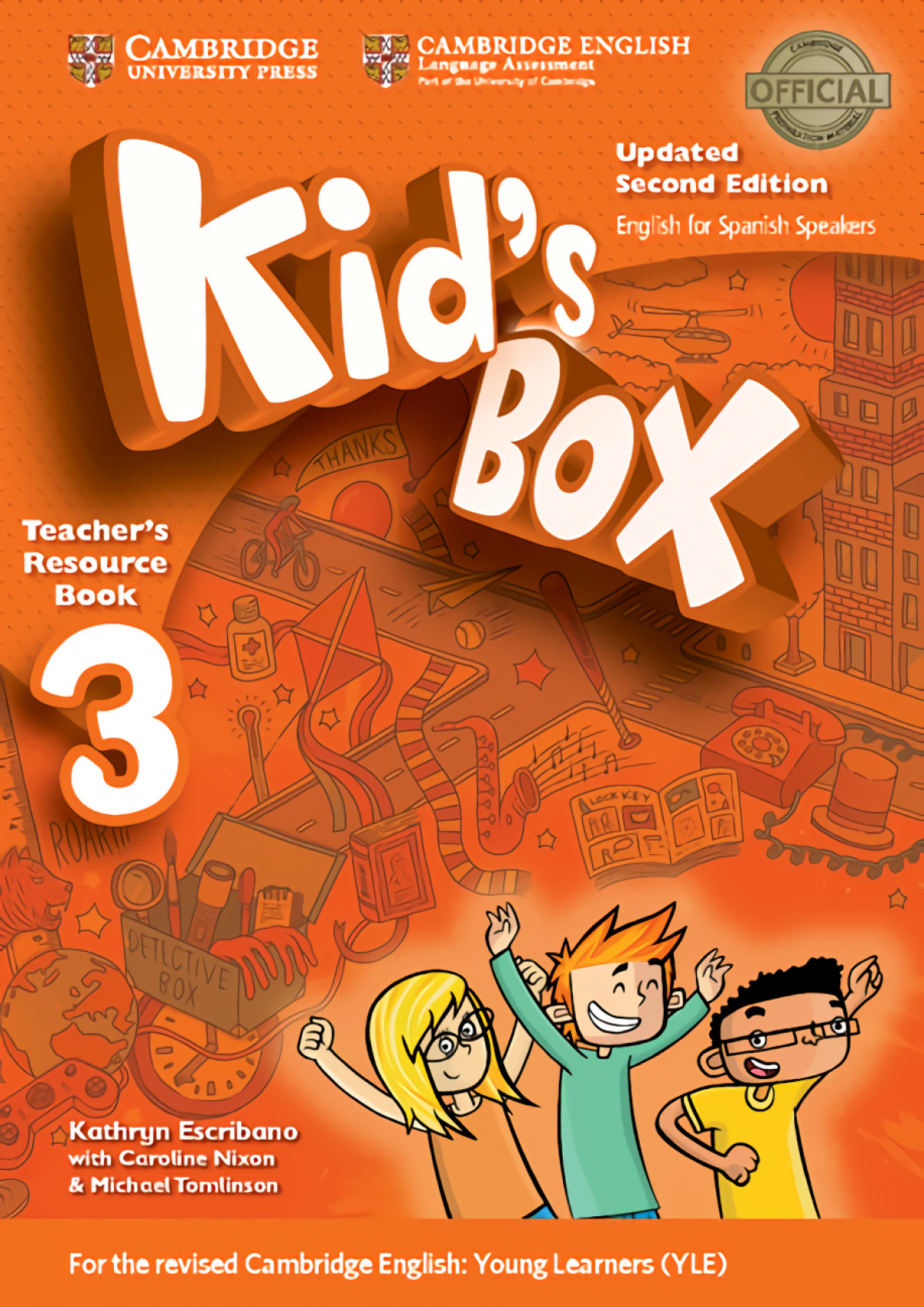 Kid's Box Level 3 Teacher's Resource Book with Audio CDs (2) Updated English for Spanish Speakers 2nd Edition