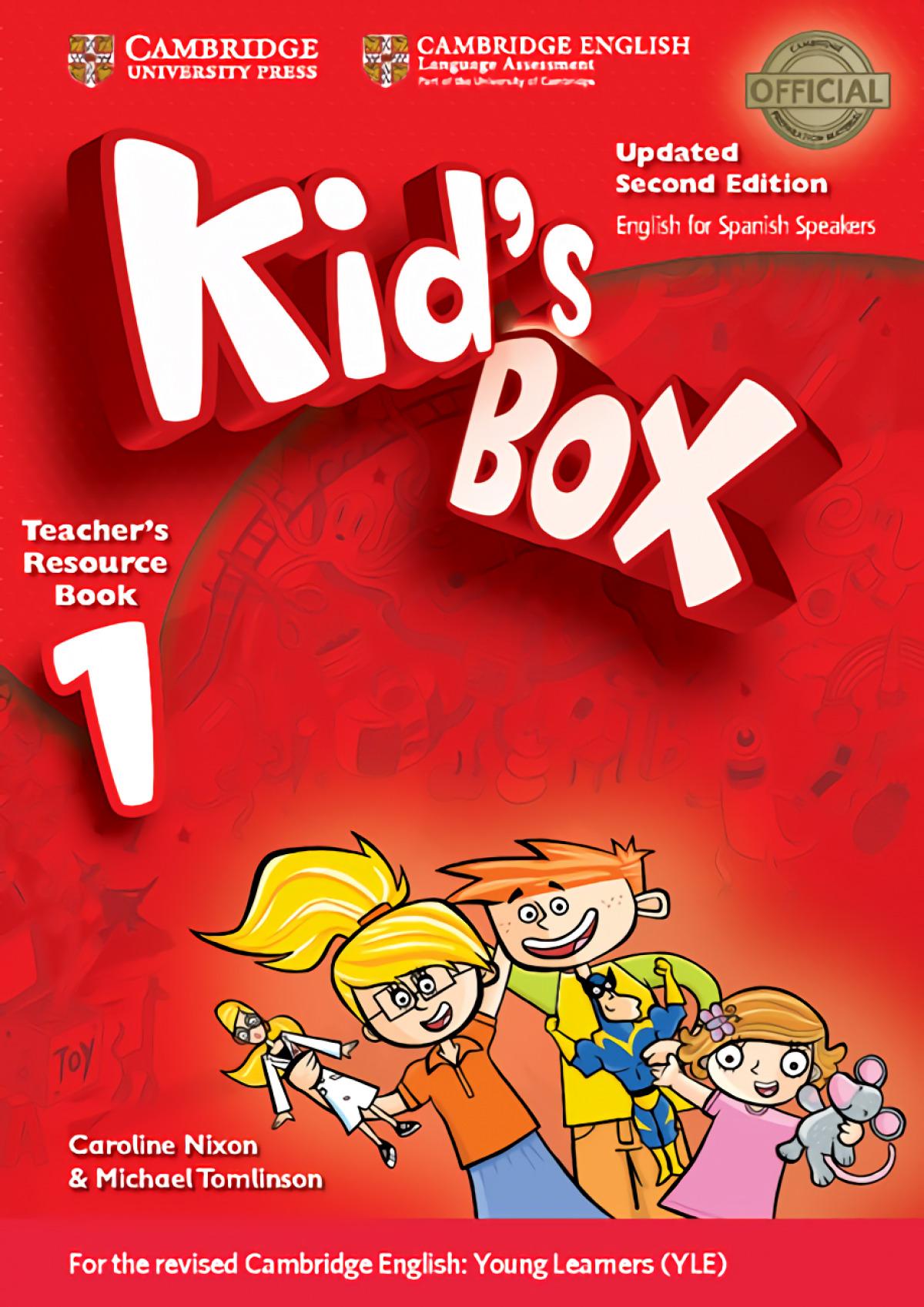 Kid's Box Level 1 Teacher's Resource Book with Audio CDs (2) Upda