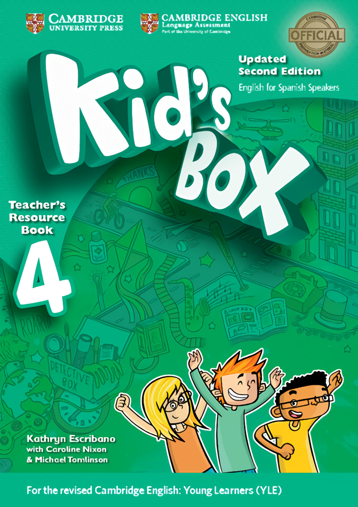 Kid's Box Level 4 Teacher's Resource Book with Audio CDs (2) Updated English for Spanish Speakers 2nd Edition