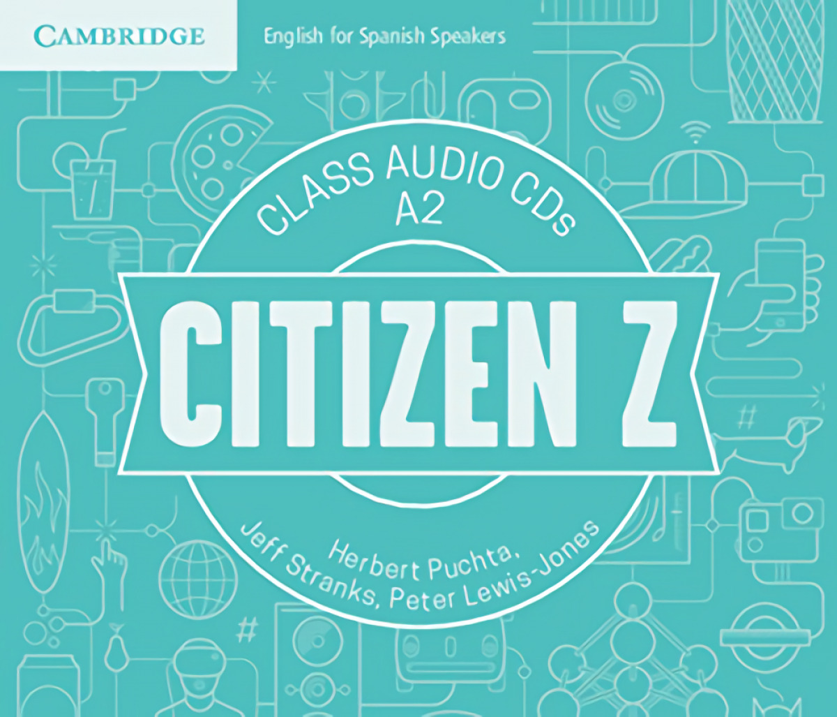 Citizen Z A2 Class Audio CDs (4)
