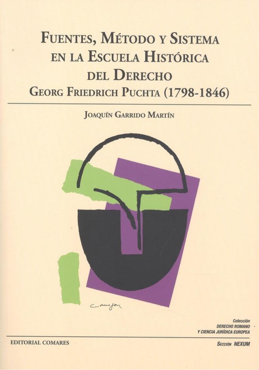 FUENTES METODO Y SISTEMA EN ESCUELA HISTORICA DEL DERECHO