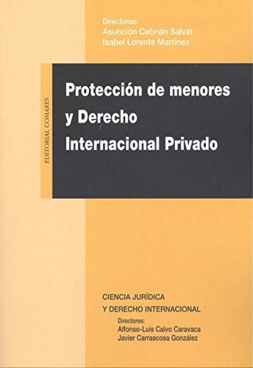 PROTECCIÓN DE MENORES Y DERECHO INTERNACIONAL PRIVADO