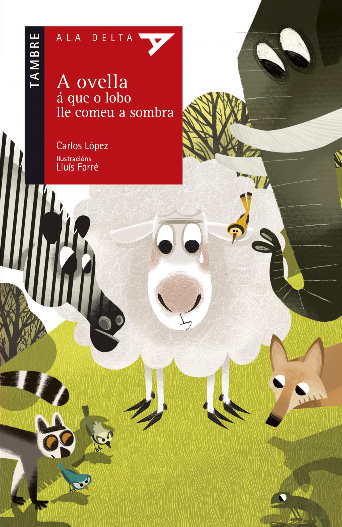 A ovella á que o lobo lle comeu a sombra