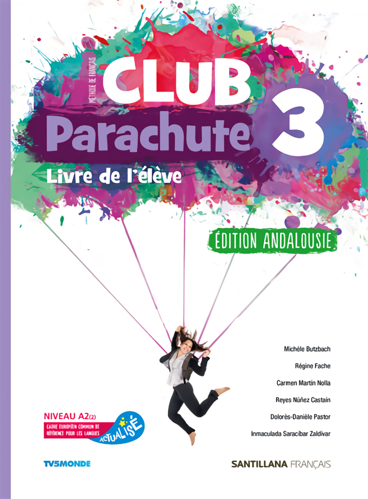 CLUB PARACHUTE 3 PACK ELEVE ANDALUCIA