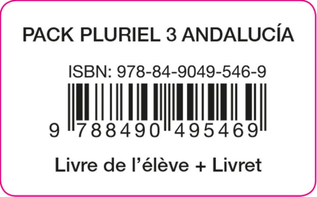 PLURIEL 3 PACK ELEVE ANDALUCIA ED20