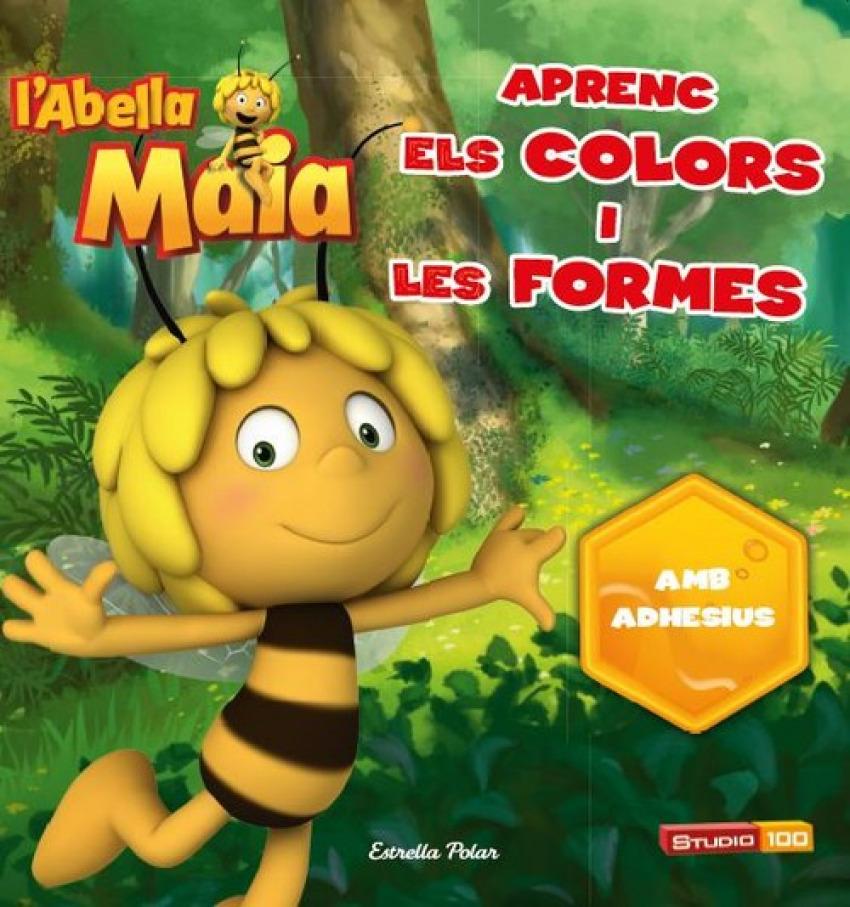 Aprèn els colors i les formes amb l'Abella Maia