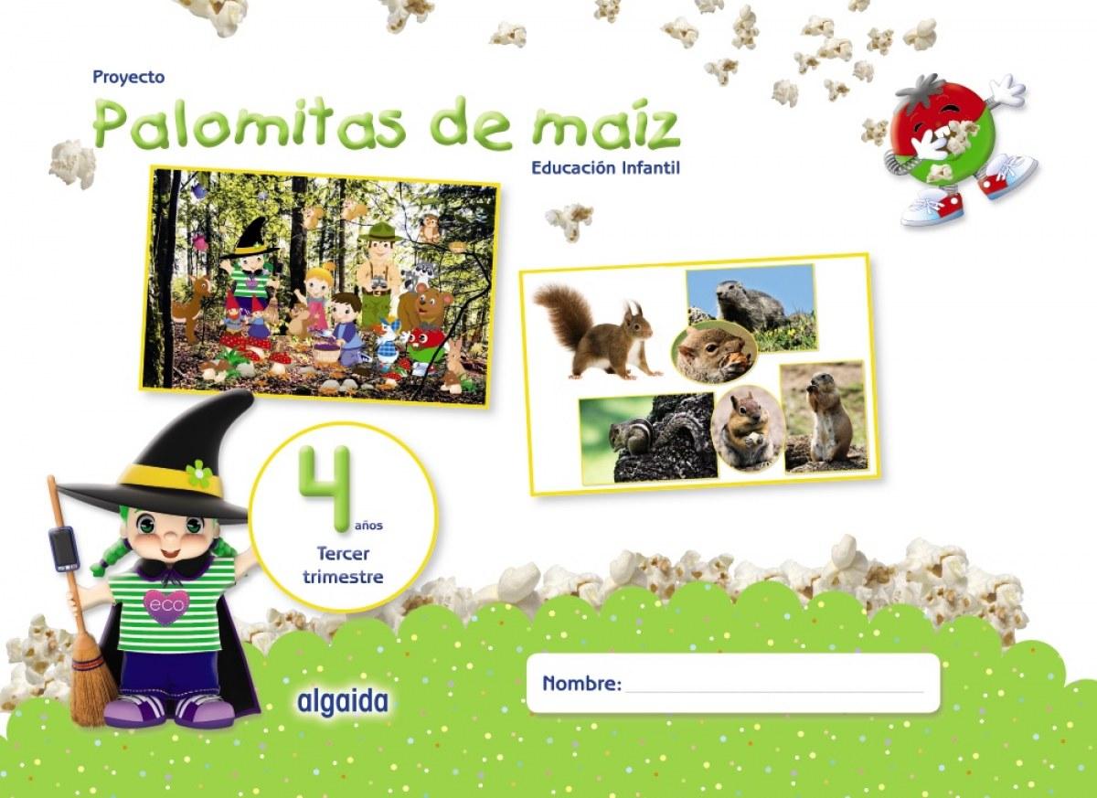 PALOMITAS DE MAIZ 4 AñOS 3o.TRIMESTRE 9788490678732