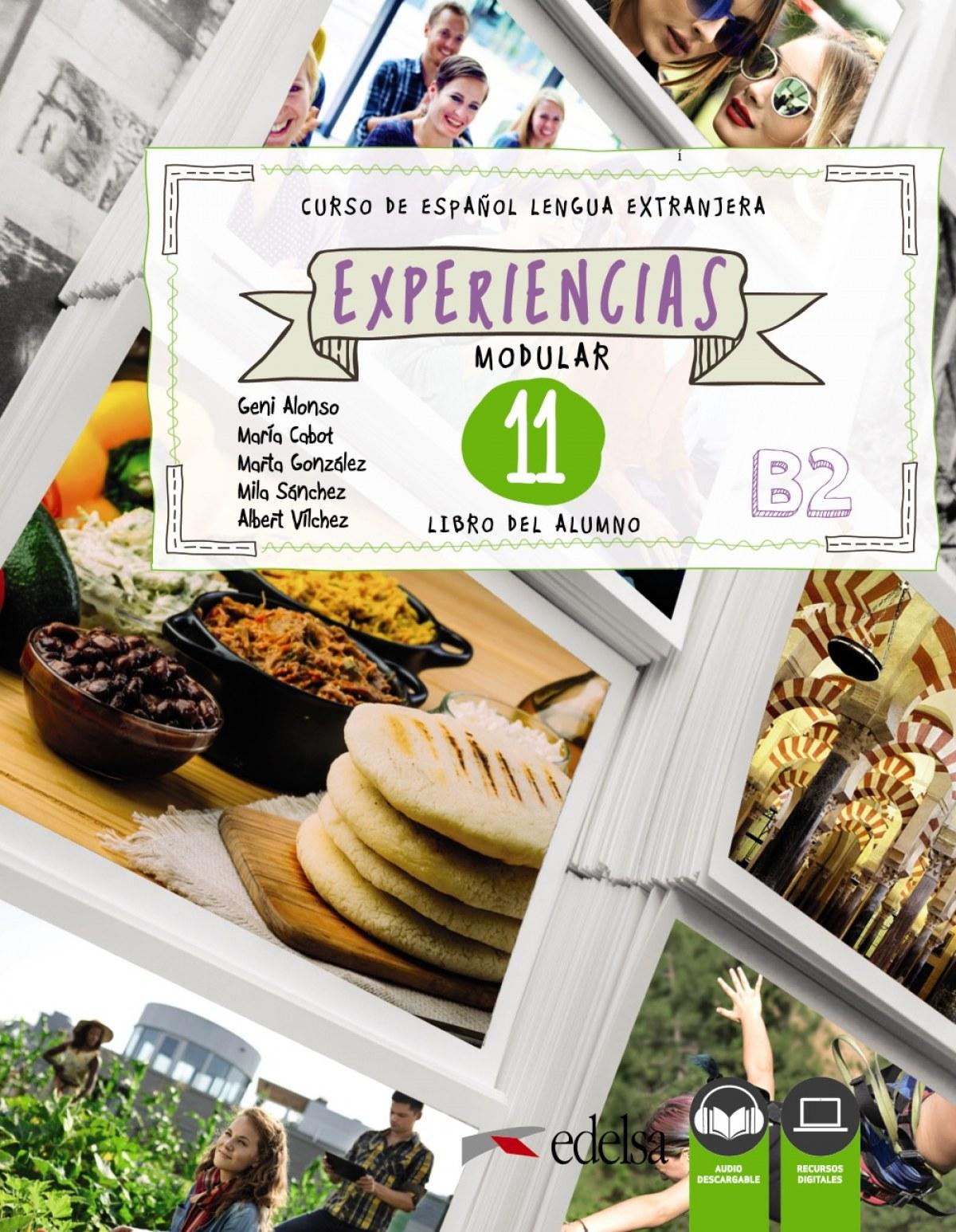 Experiencias 11 (B2). Libro del alumno