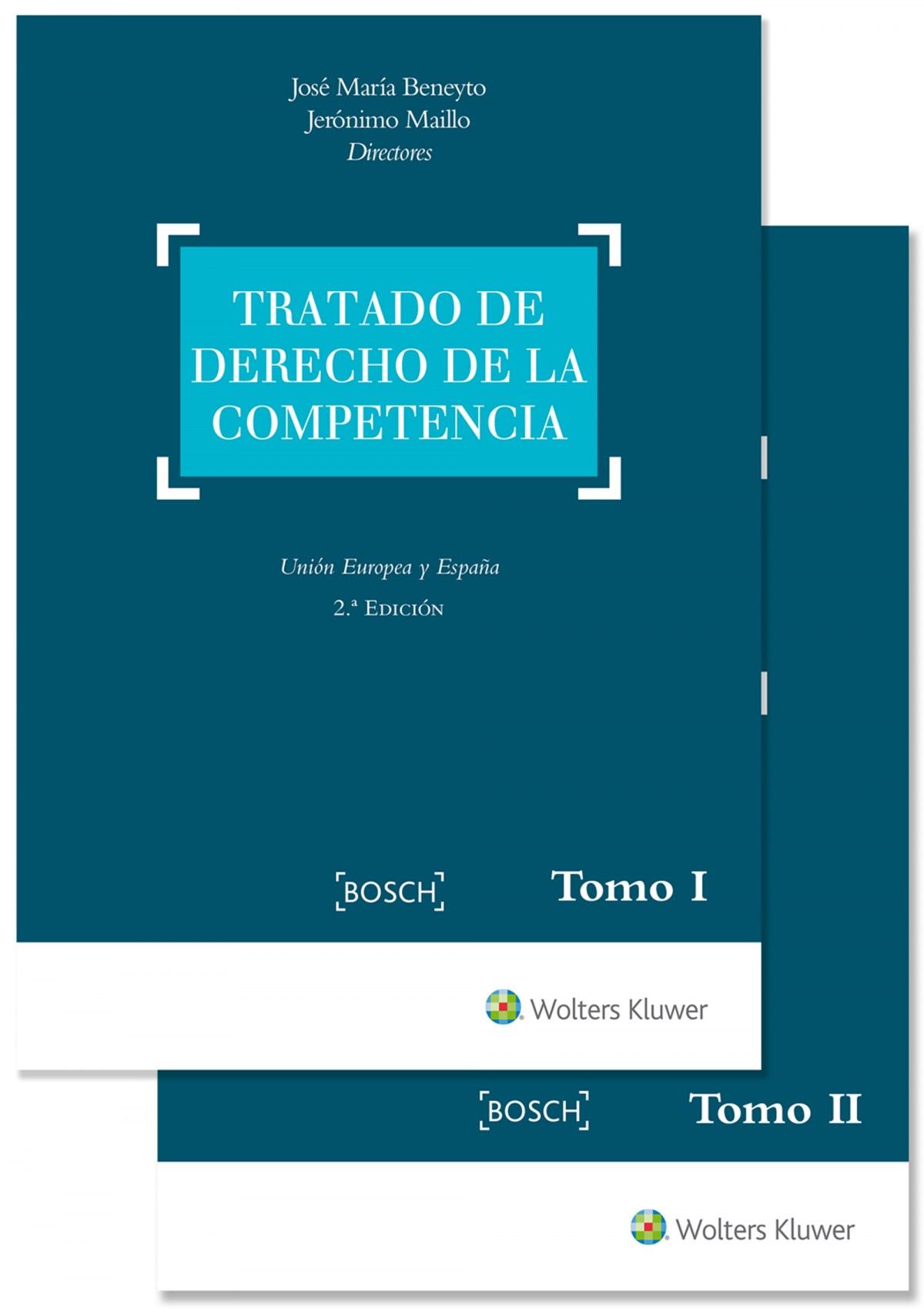 TRATADO DE DERECHO DE LA COMPETENCIA (2 TOMOS)