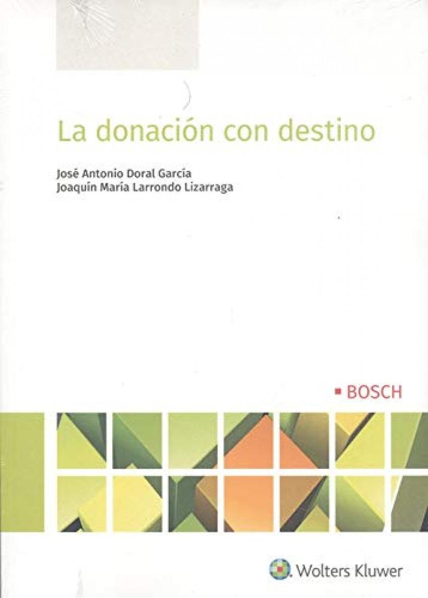 La donación con destino