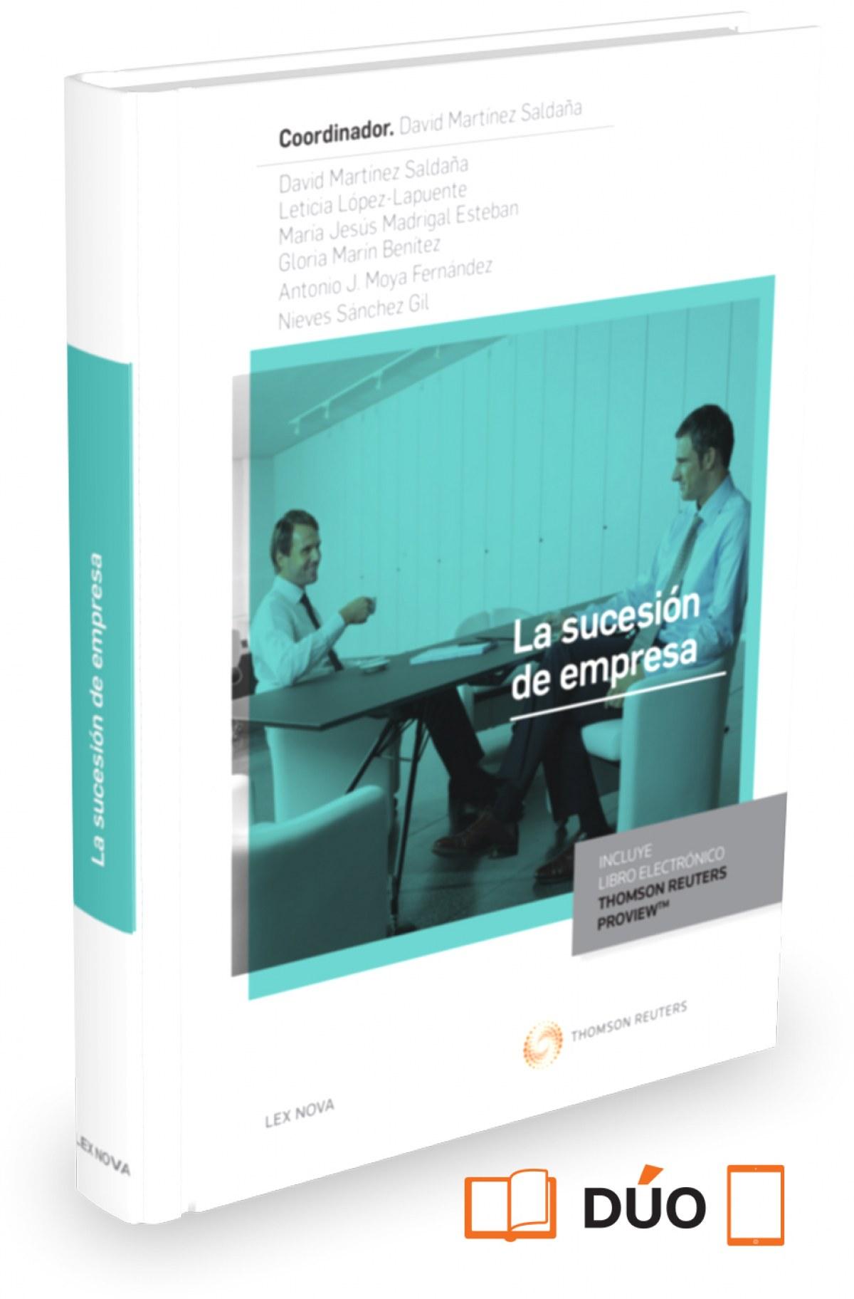 LA SUCESION DE EMPRESA (PAPEL + E-BOOK)