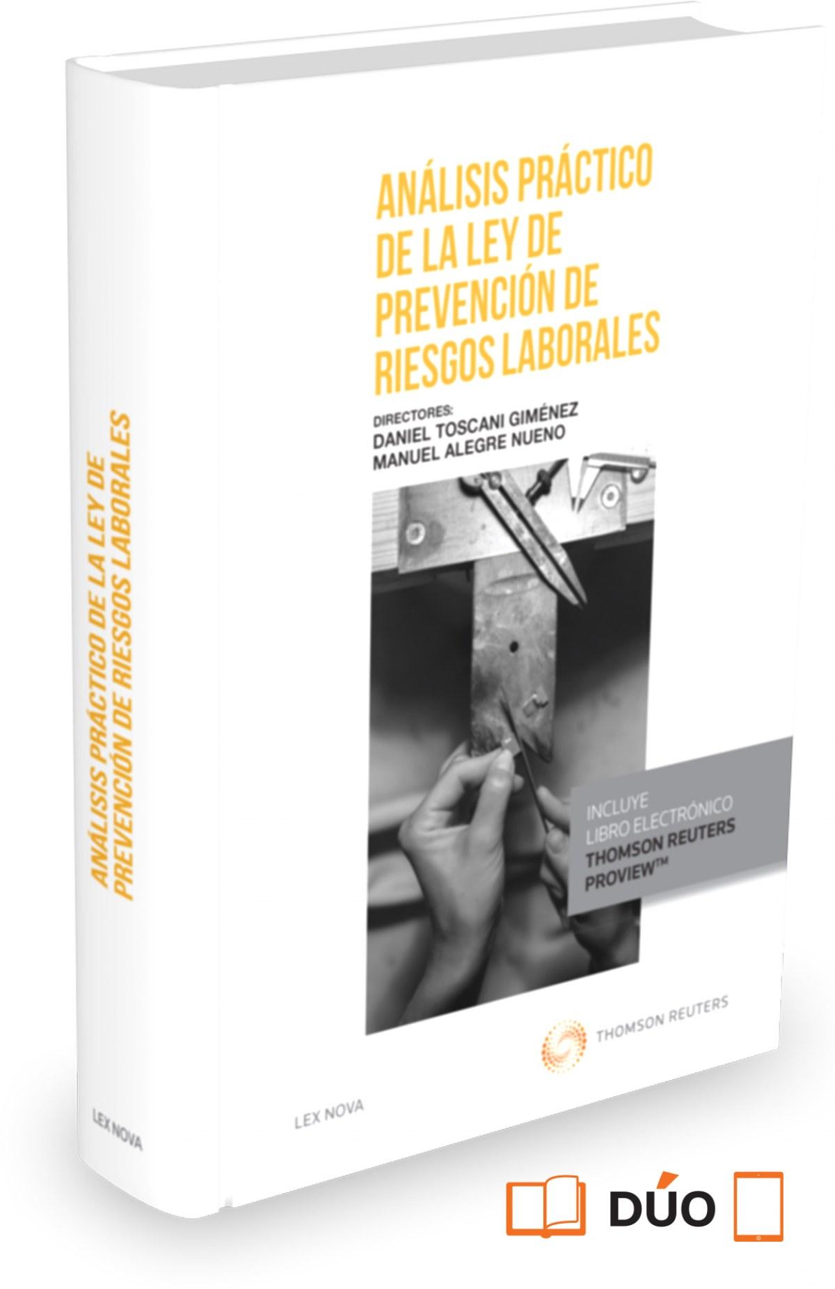 ANALISIS PRACTICO DE LA LEY DE PREVENCION DE RIESGOS LABORALES (PAPEL + E-BOOK)