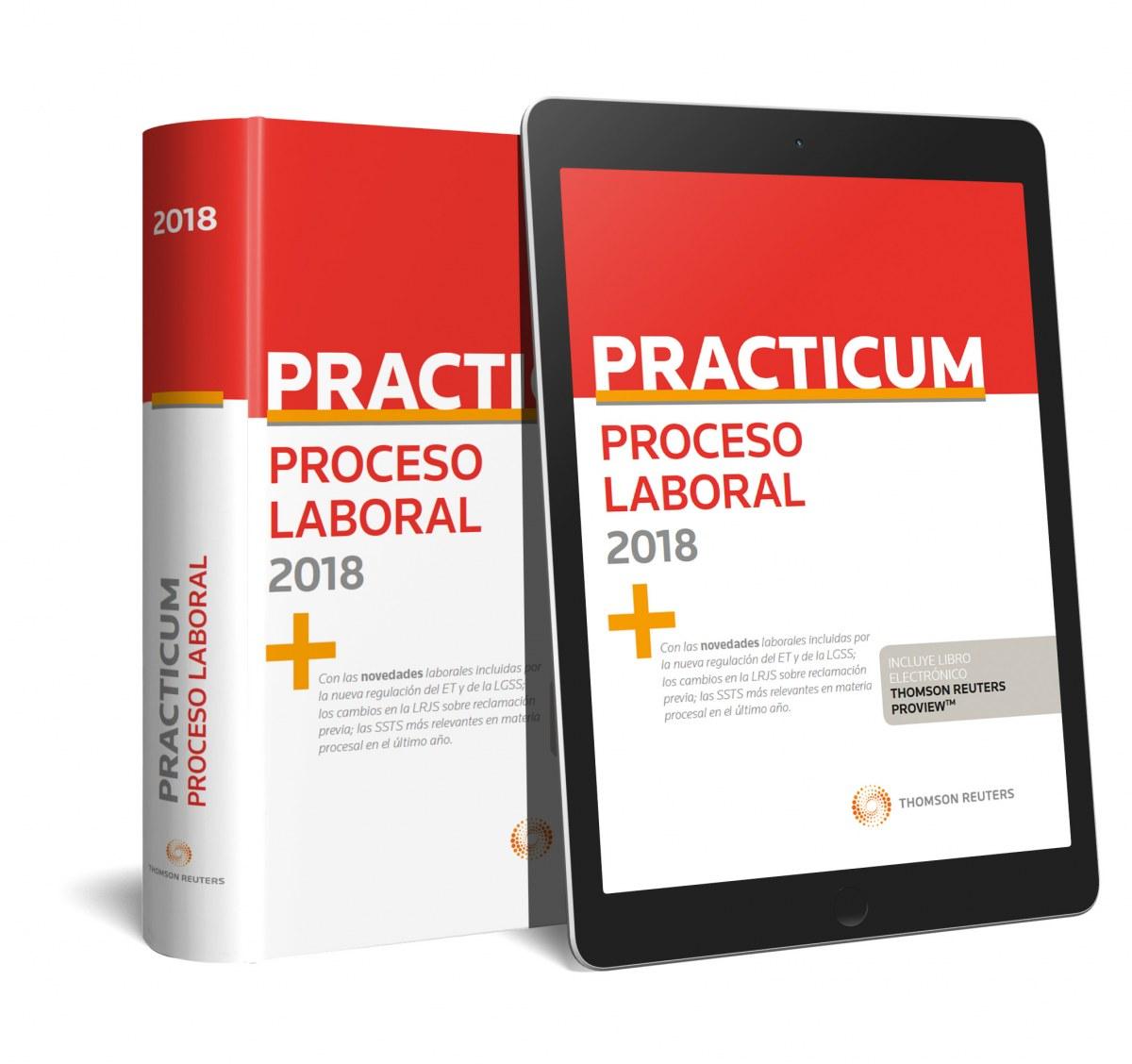 PRACTICUM PROCESO LABORAL 2018 (PAPEL + E-BOOK)