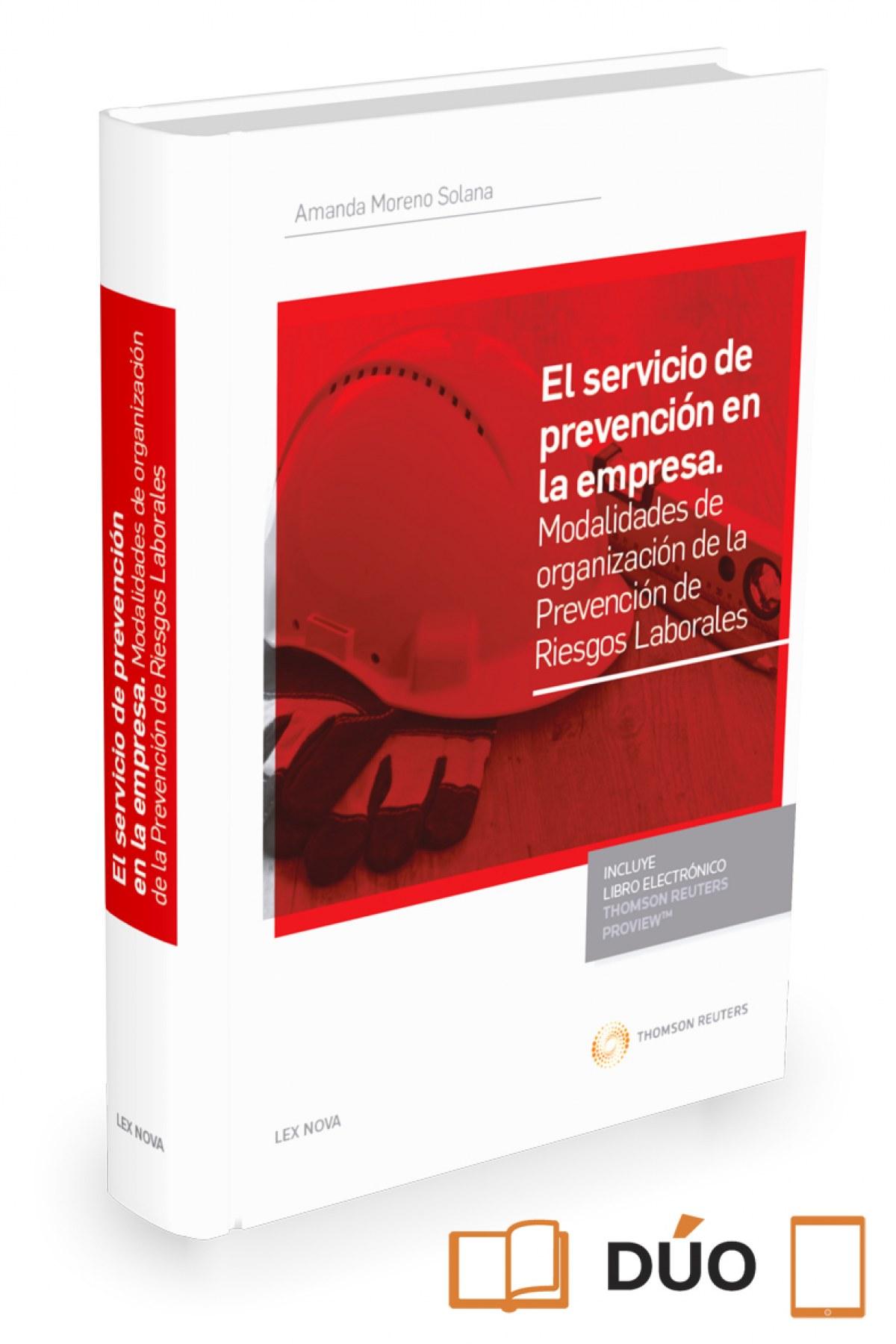 EL SERVICIO DE PREVENCION EN LA EMPRESA (PAPEL + E-BOOK)