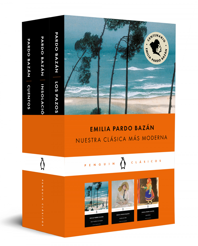 Emilia Pardo Bazán (pack que incluye: Cuentos , Los pazos de Ulloa , Insolación)