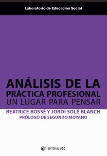 ANÁLISIS DE LA PRÁCTICA PROFESIONAL