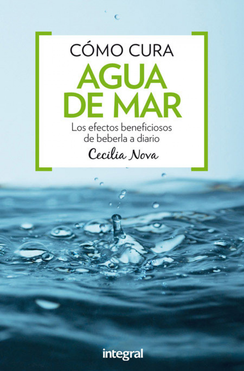 Cómo cura el agua de mar