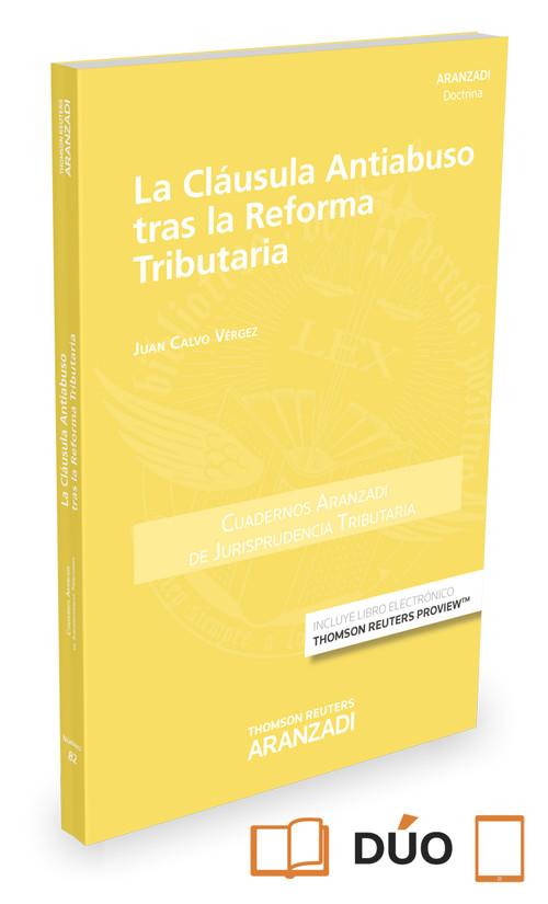 LA CLAUSULA ANTIABUSO TRAS LA REFORMA TRIBUTARIA (PAPEL+E-BOOK)