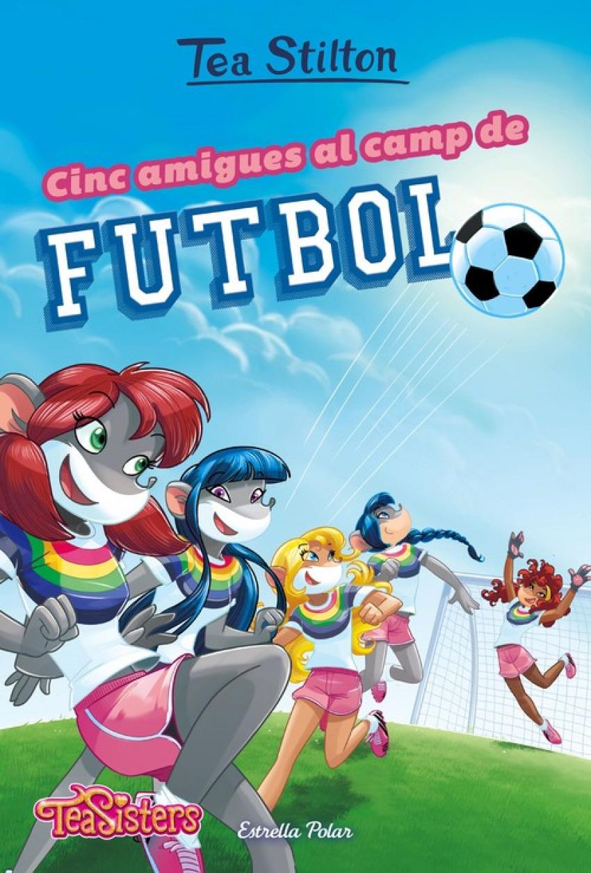CINC AMIGUES AL CAMP DE FUTBOL