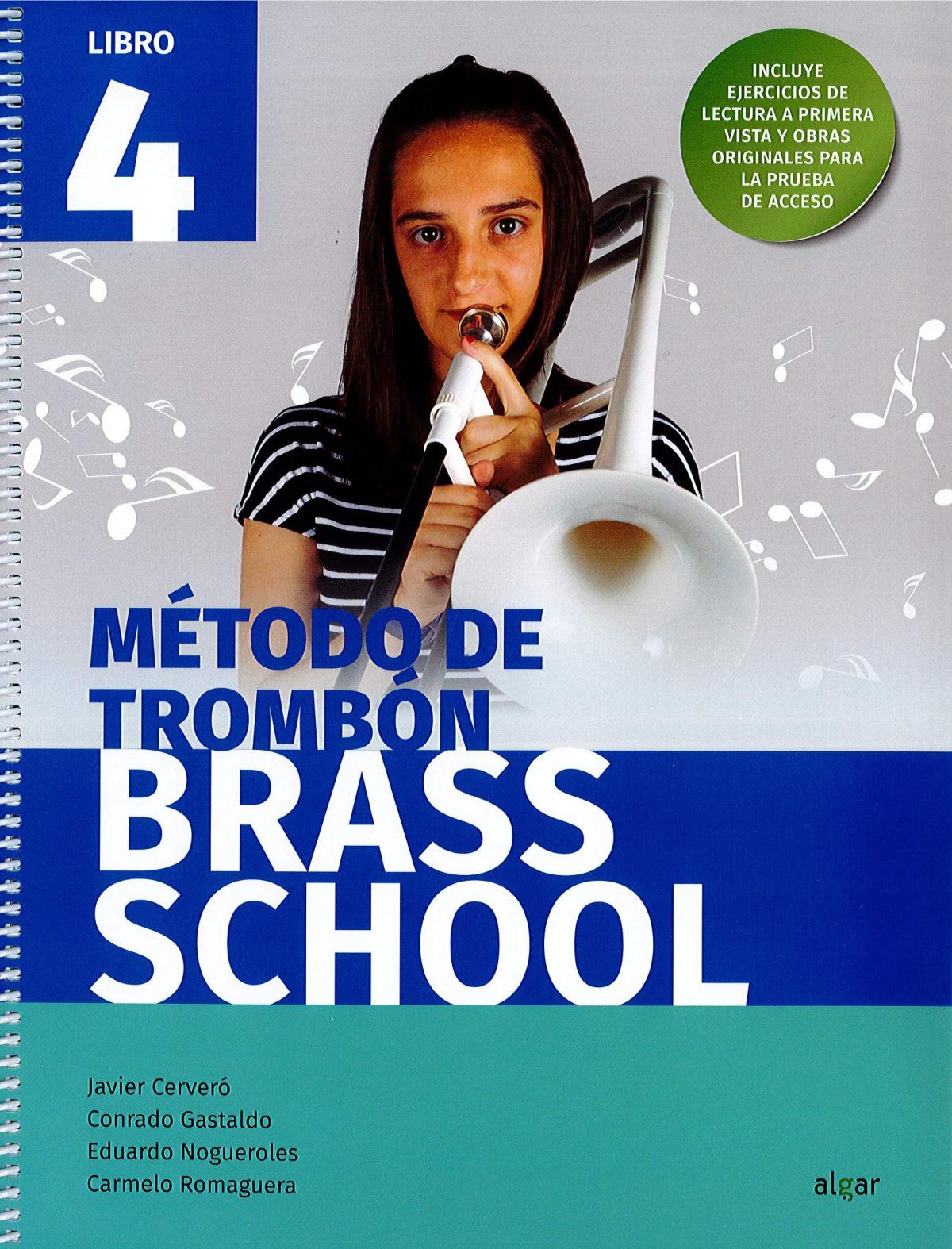 BRASS SCHOOL - METODO DE TROMBON 4
