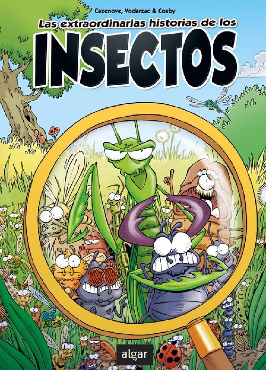 Las extraordinarias historias de los insectos