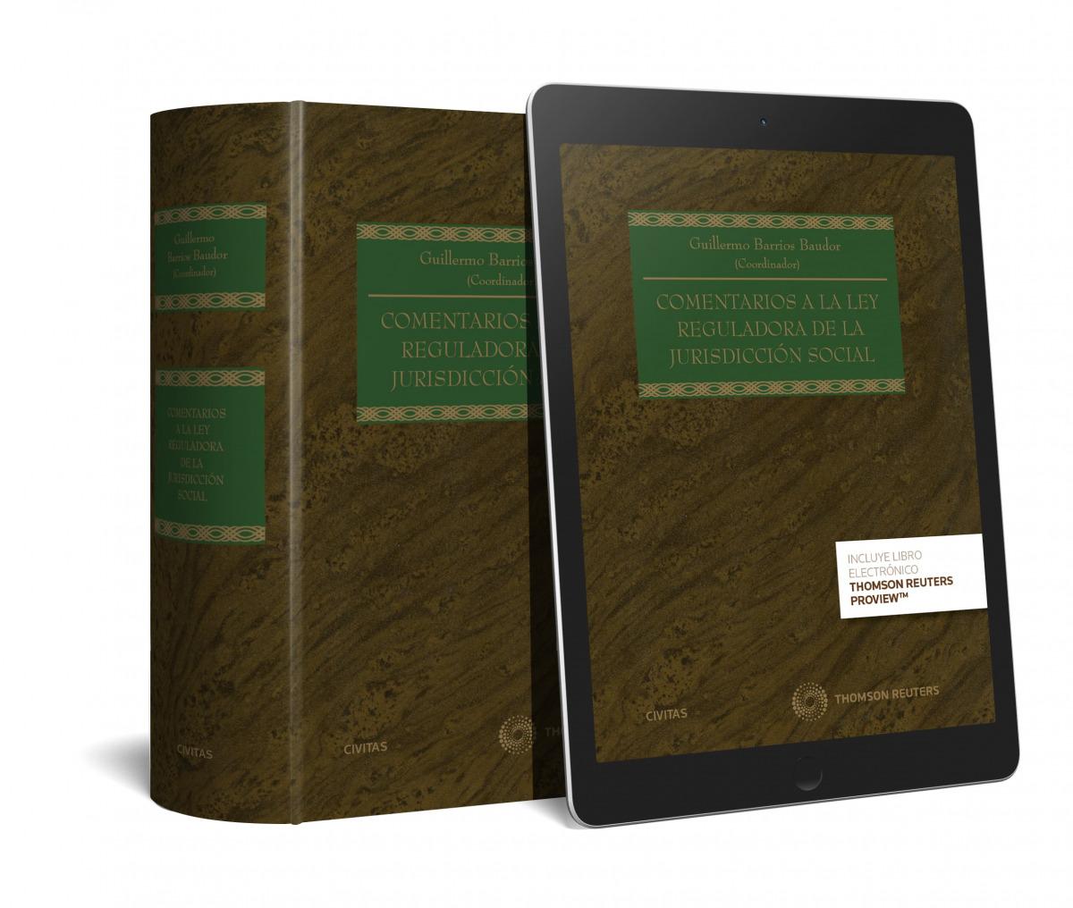 Comentarios a la Ley Reguladora de la Jurisdicción Social (Papel + e-book)