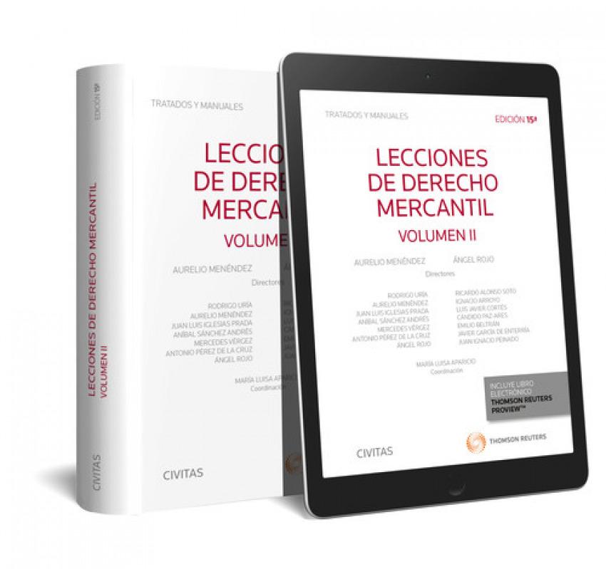 Lecciones de Derecho Mercantil Volumen II