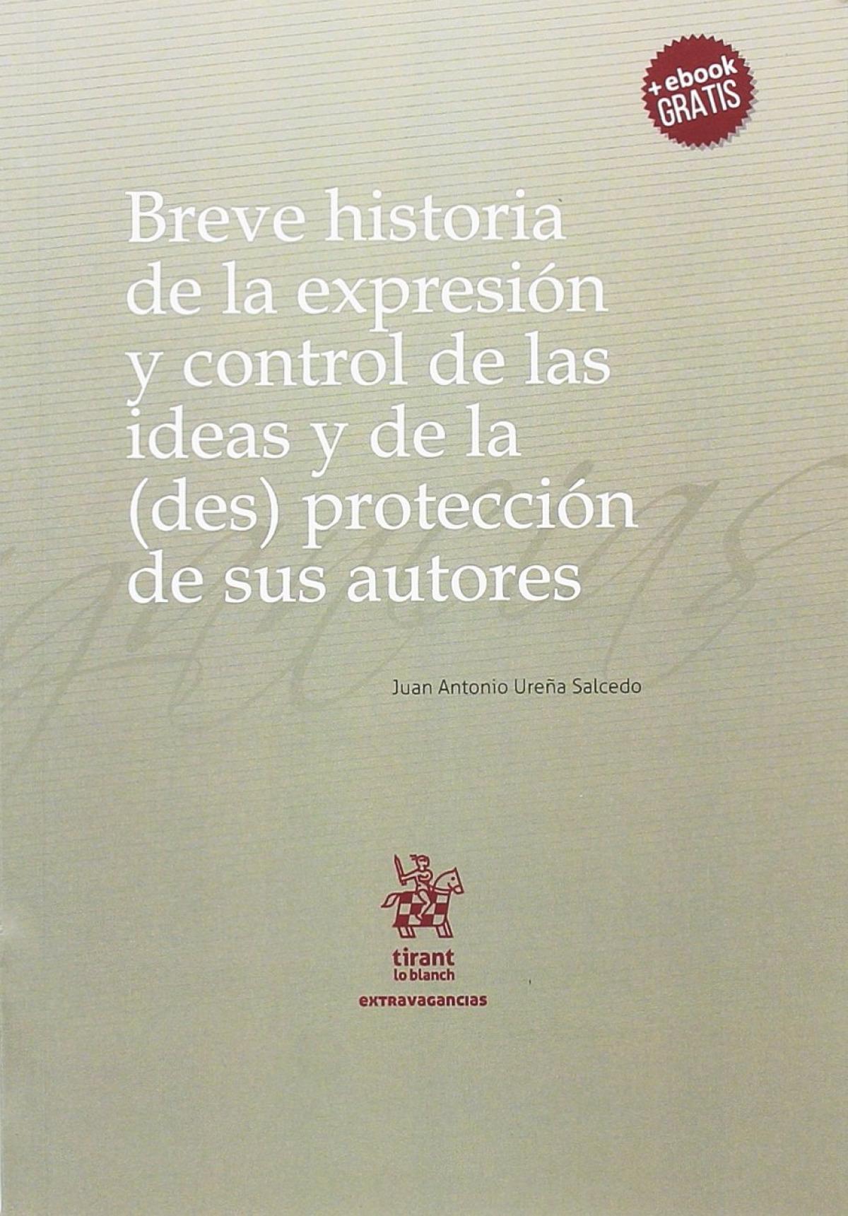 Breve historia de la expresión y control de las ideas y de la (de