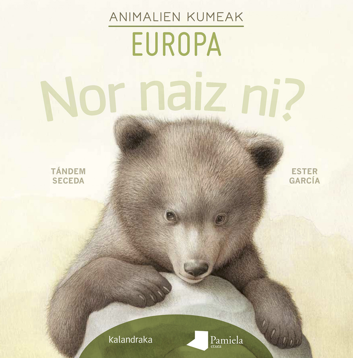 Nor naiz ni? Animalien kumeak - Europa