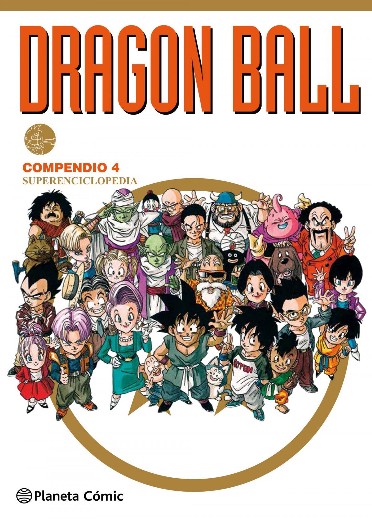 Dragon Ball Compendio nº 04/04 NE