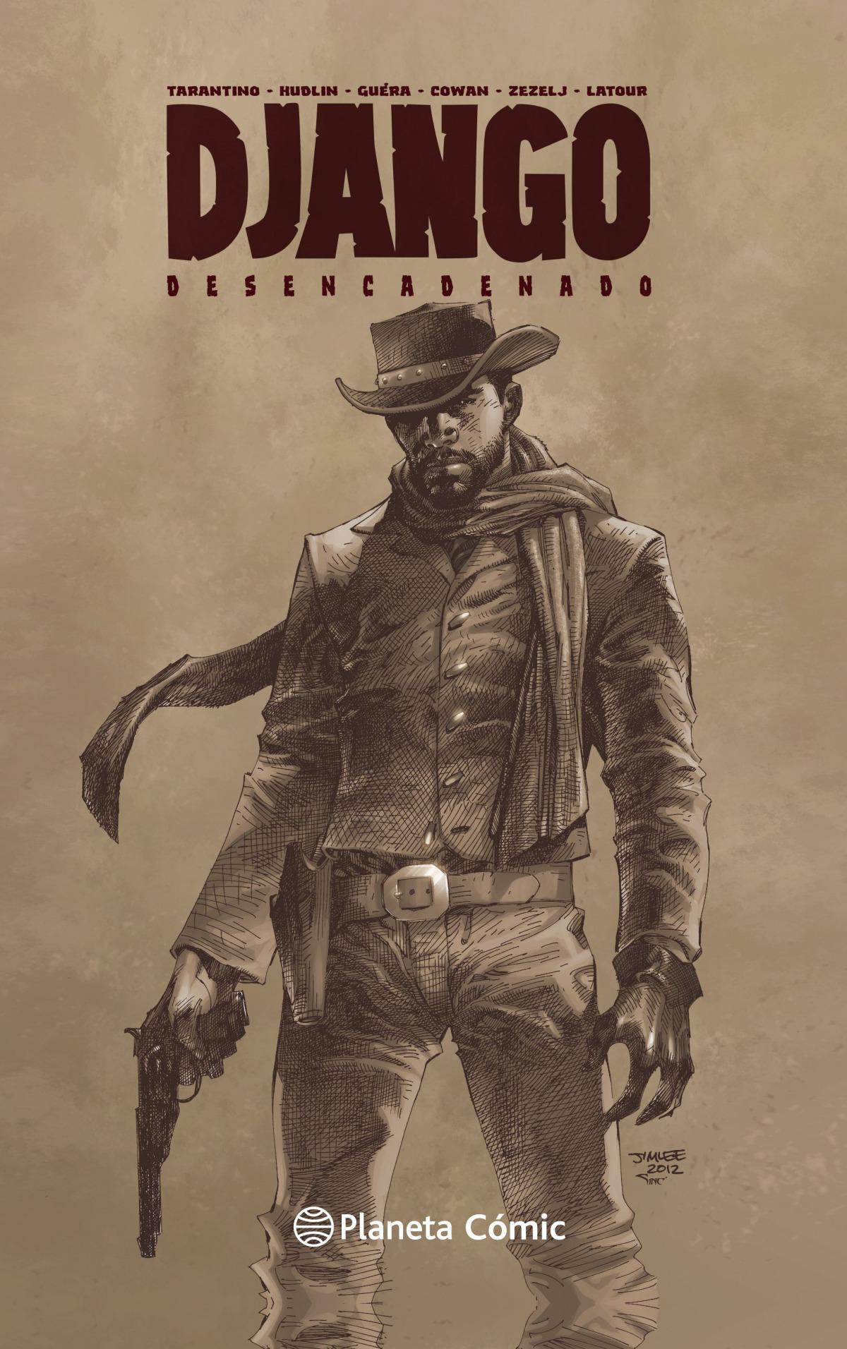 Django Desencadenado (novela gráfica)