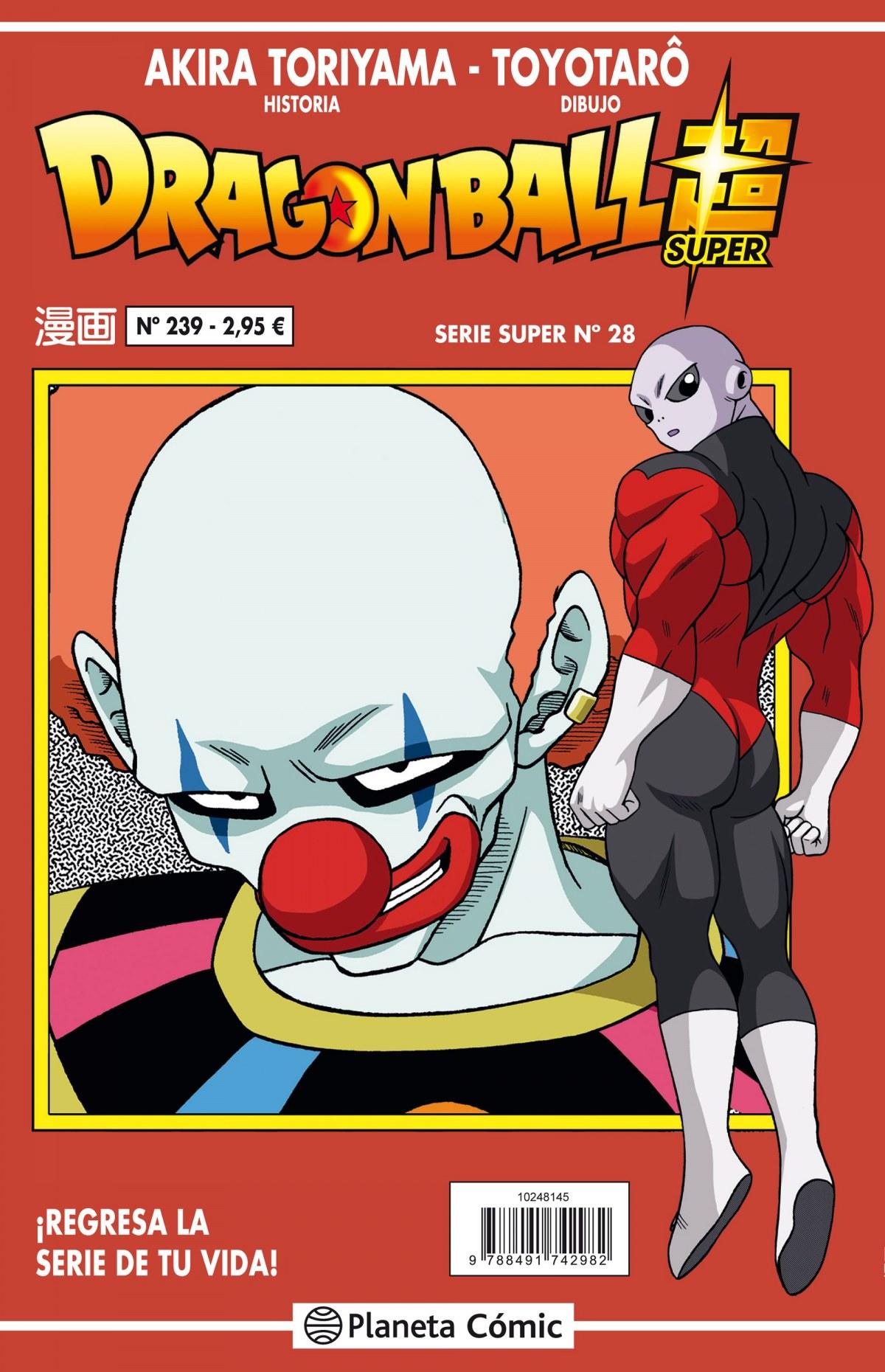 Dragon Ball Serie roja nº 239