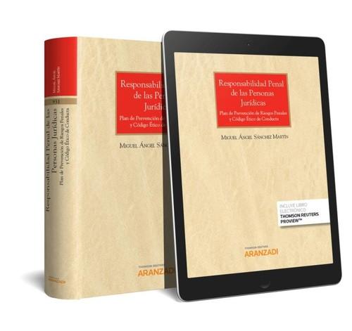 RESPONSABILIDAD PENAL DE LAS PERSONAS JURIDICAS (PAPEL + E-BOOK)