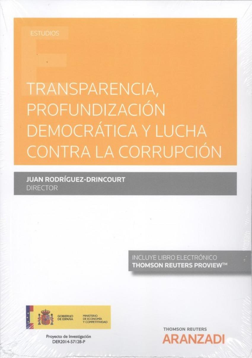 Transparencia, profundización democrática y lucha contra la corru