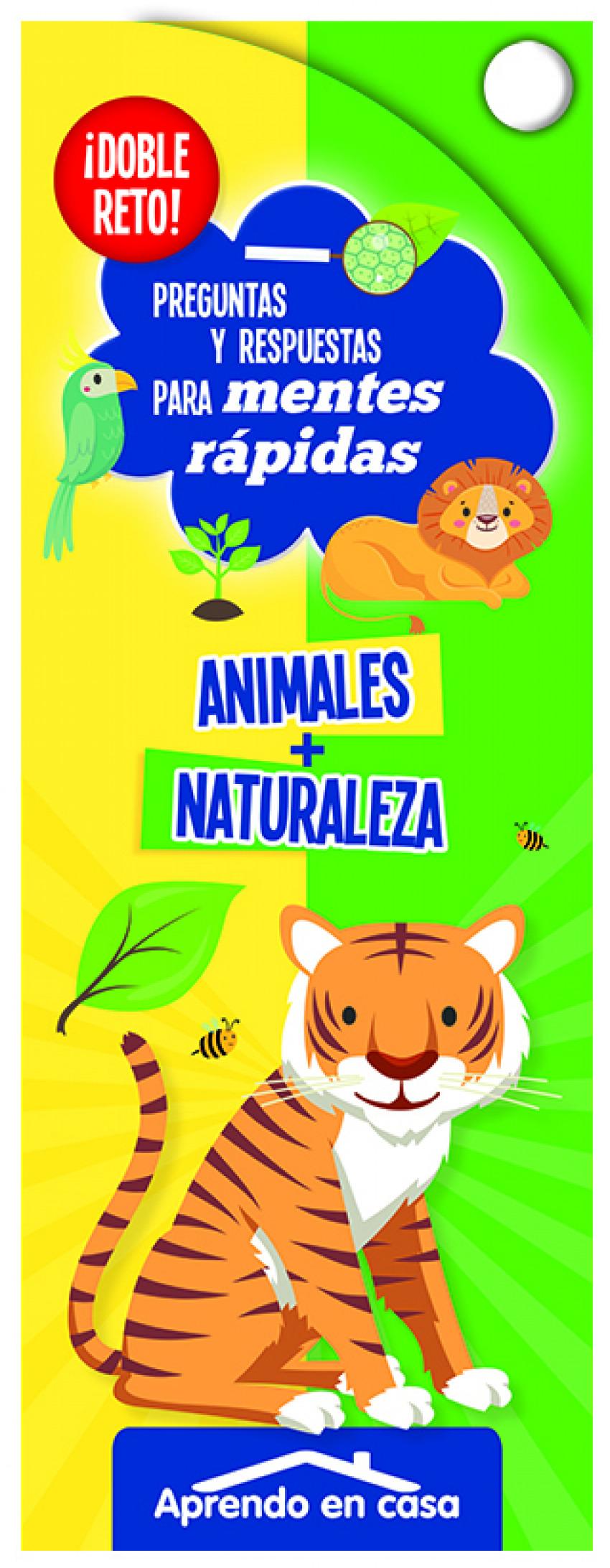 APRENDO EN CASA DOBLE RETO - ANIMALES NATURALEZA