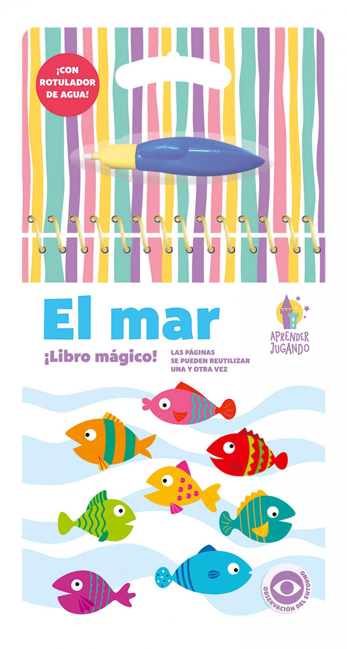 LIBRO MAGICO - APRENDER JUGANDO - EL MAR