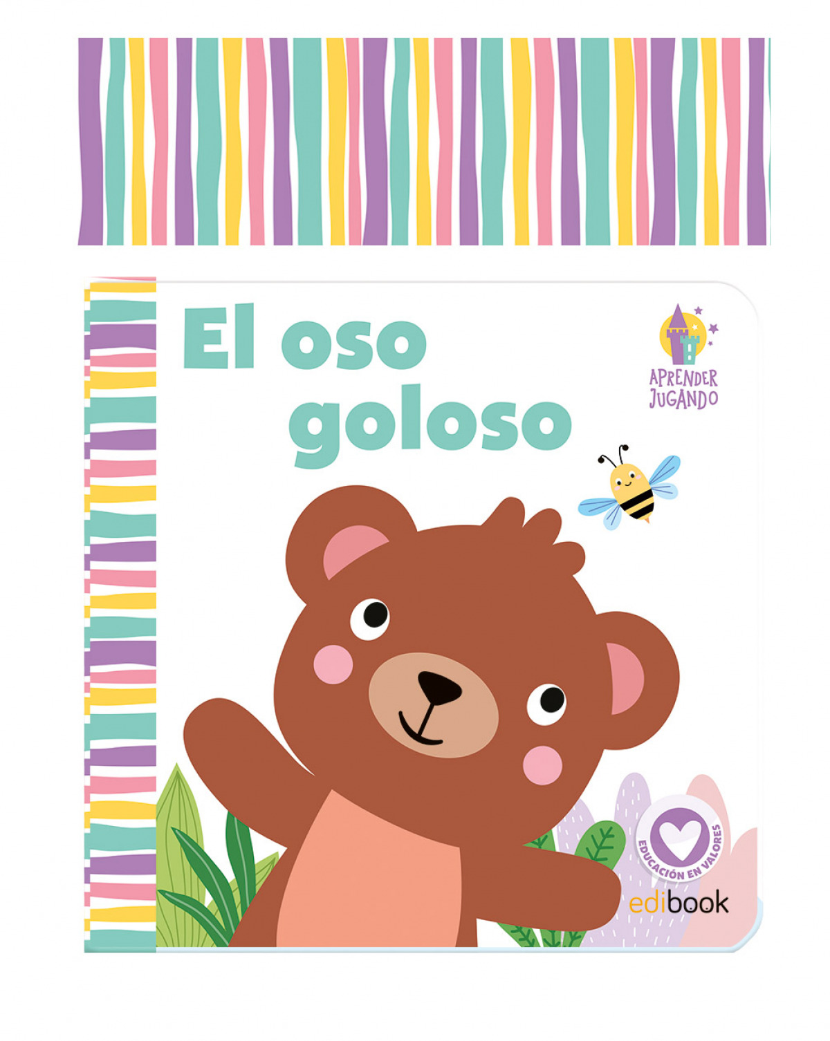 APRENDER JUGANDO - LIBRO BAÑO - EL OSOS GOLOSO