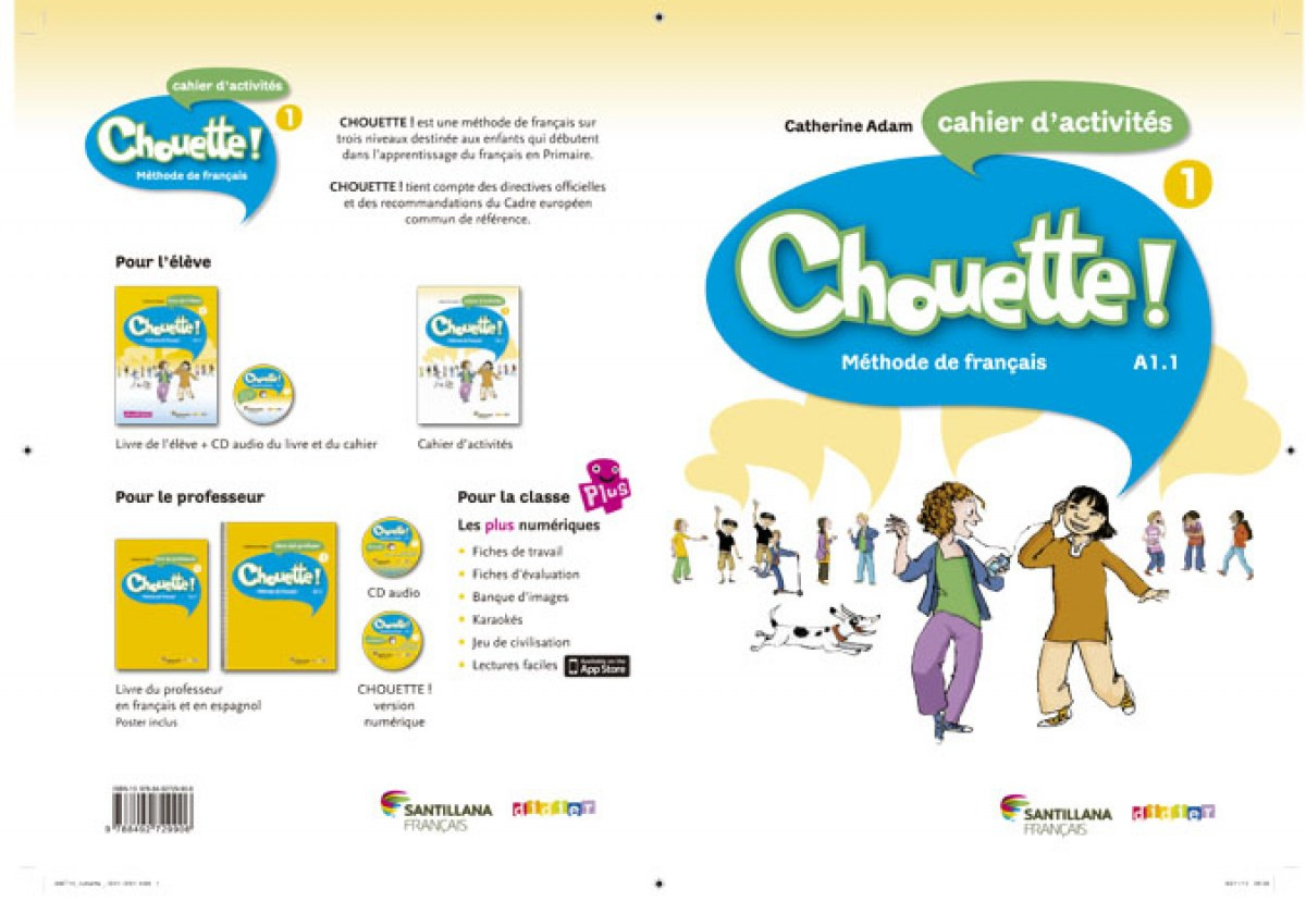 Chouette 1 Cahier d'exercices