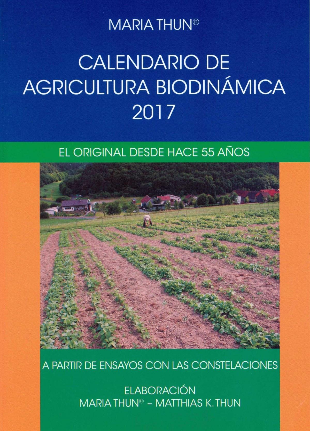 CALENDARIO DE AGRICULTURA BIODINAMICA 2017