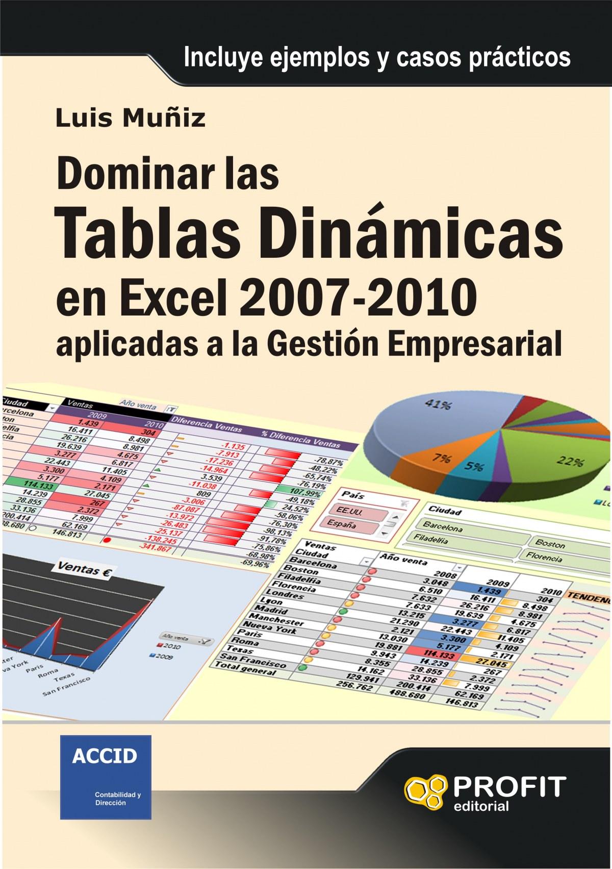 Dominar las tablas dinámicas en Excel 2007-2010 9788492956586