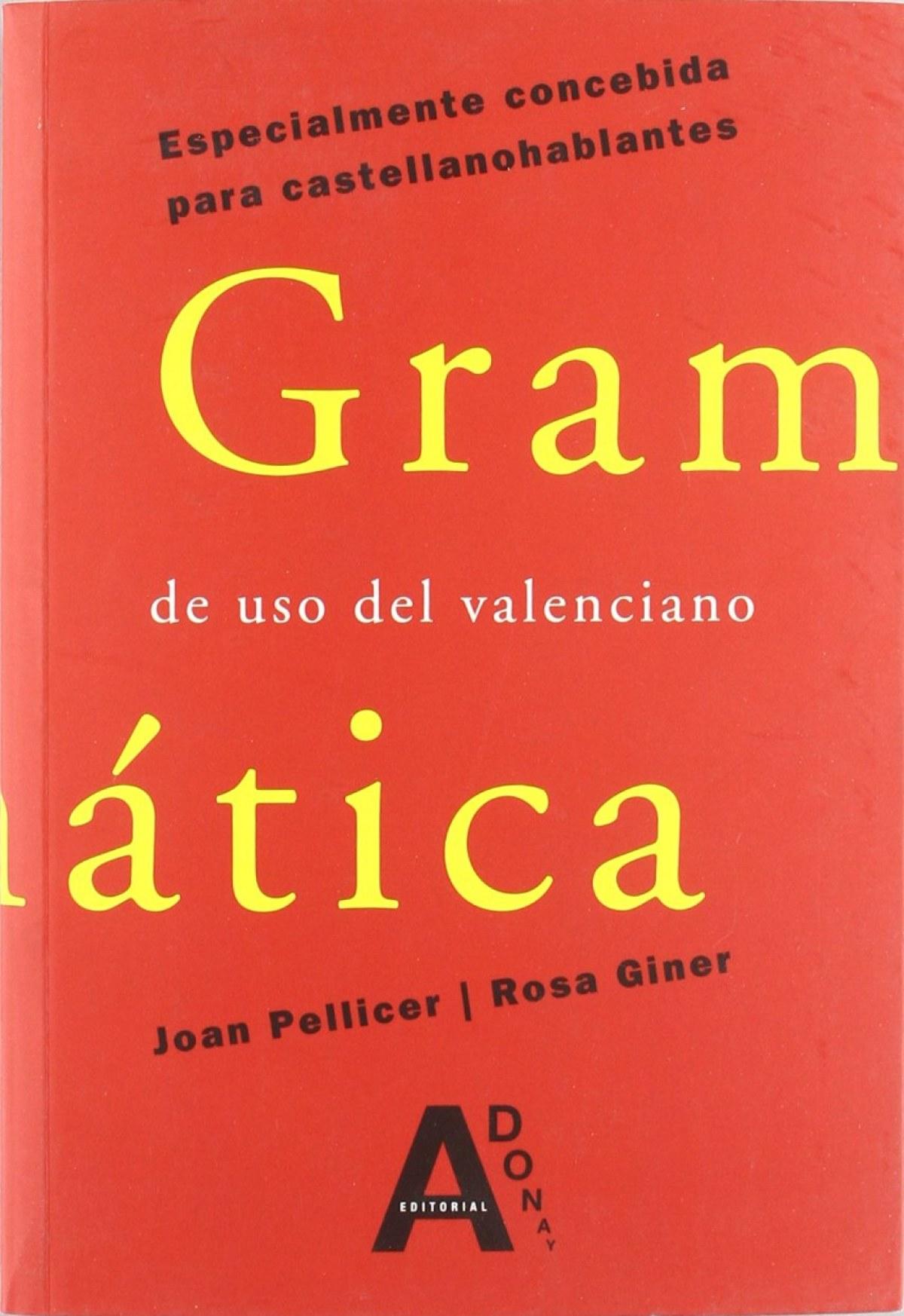 Gramática de uso del valenciano