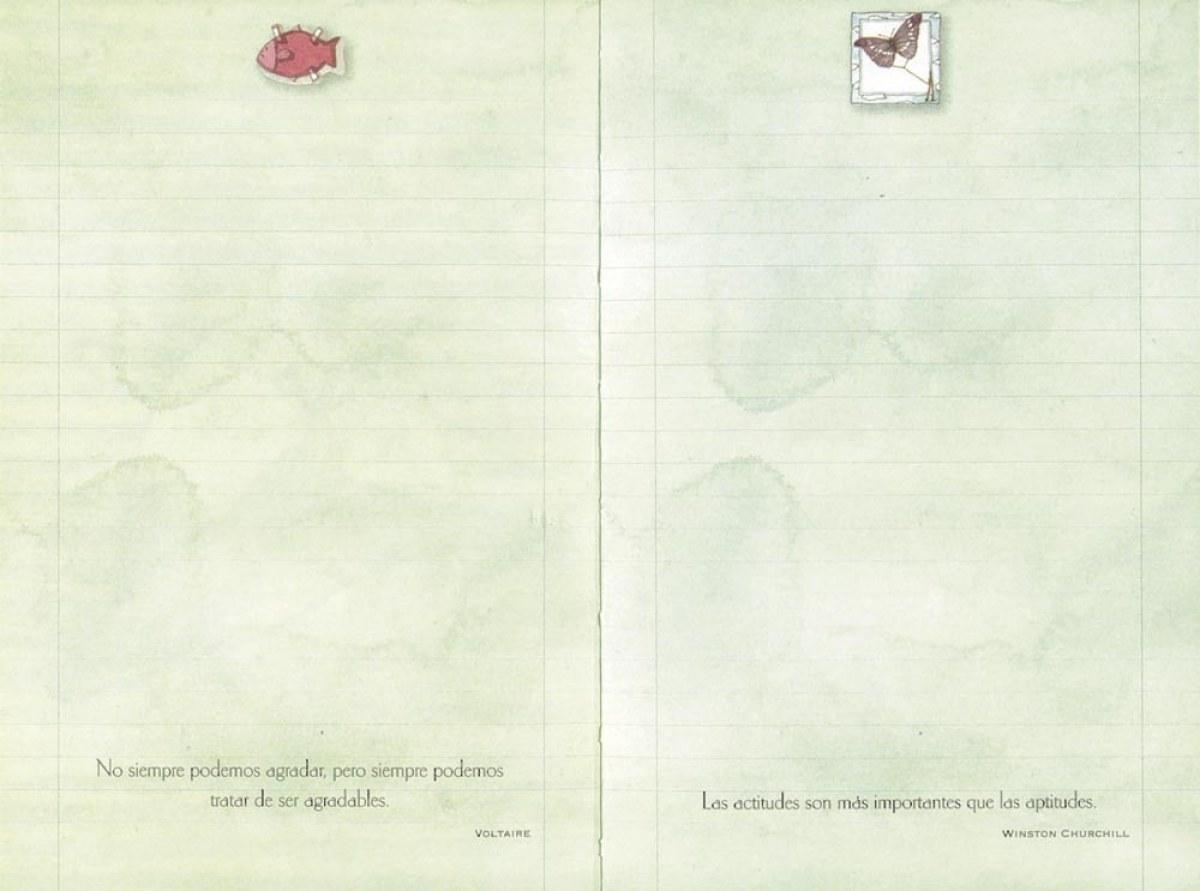 Diario de las bellos pensamientos para almas delicadas 9788493934330