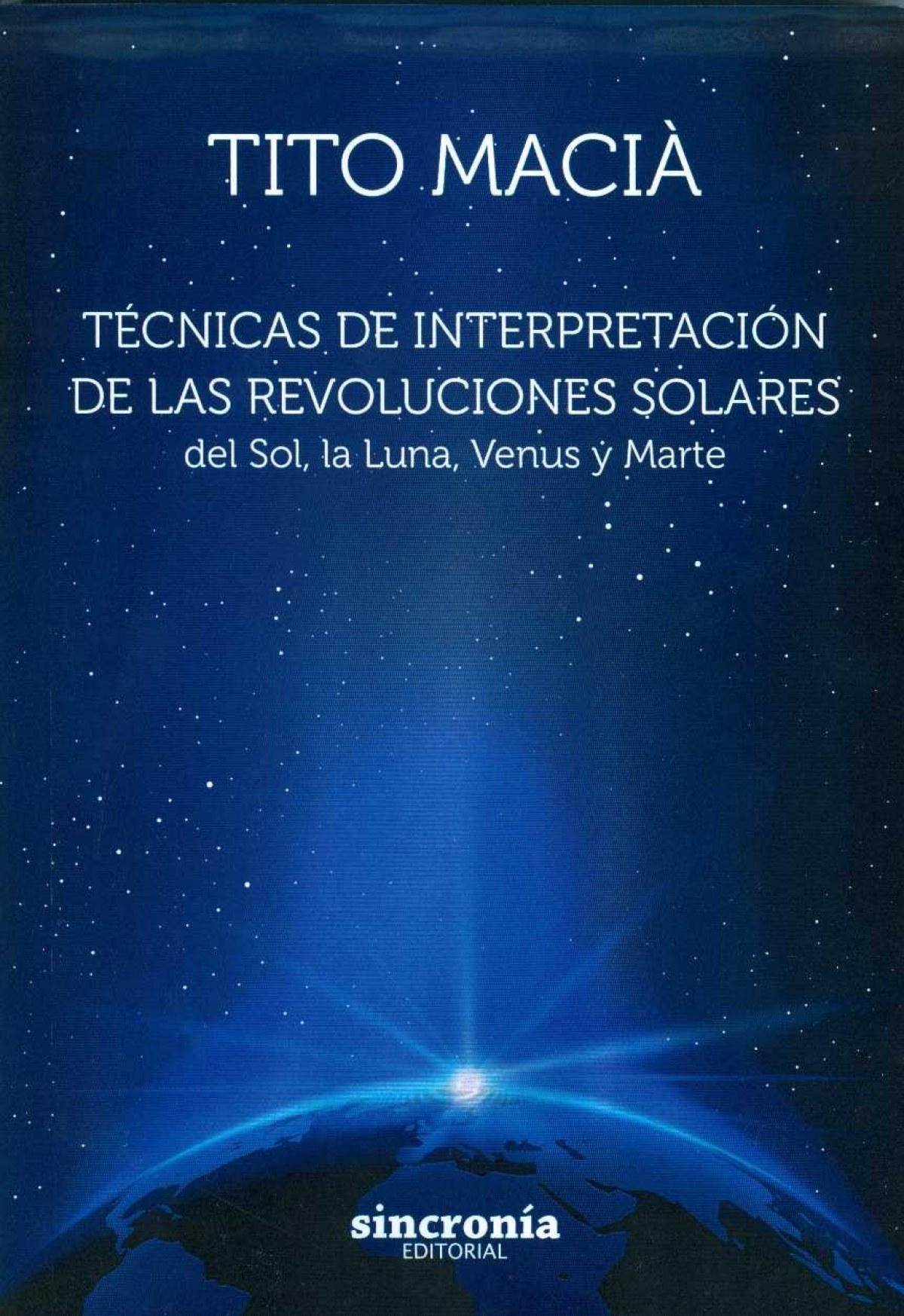TÈCNICAS DE INTERPRETACIÓN DE LAS REVOLUCIONES