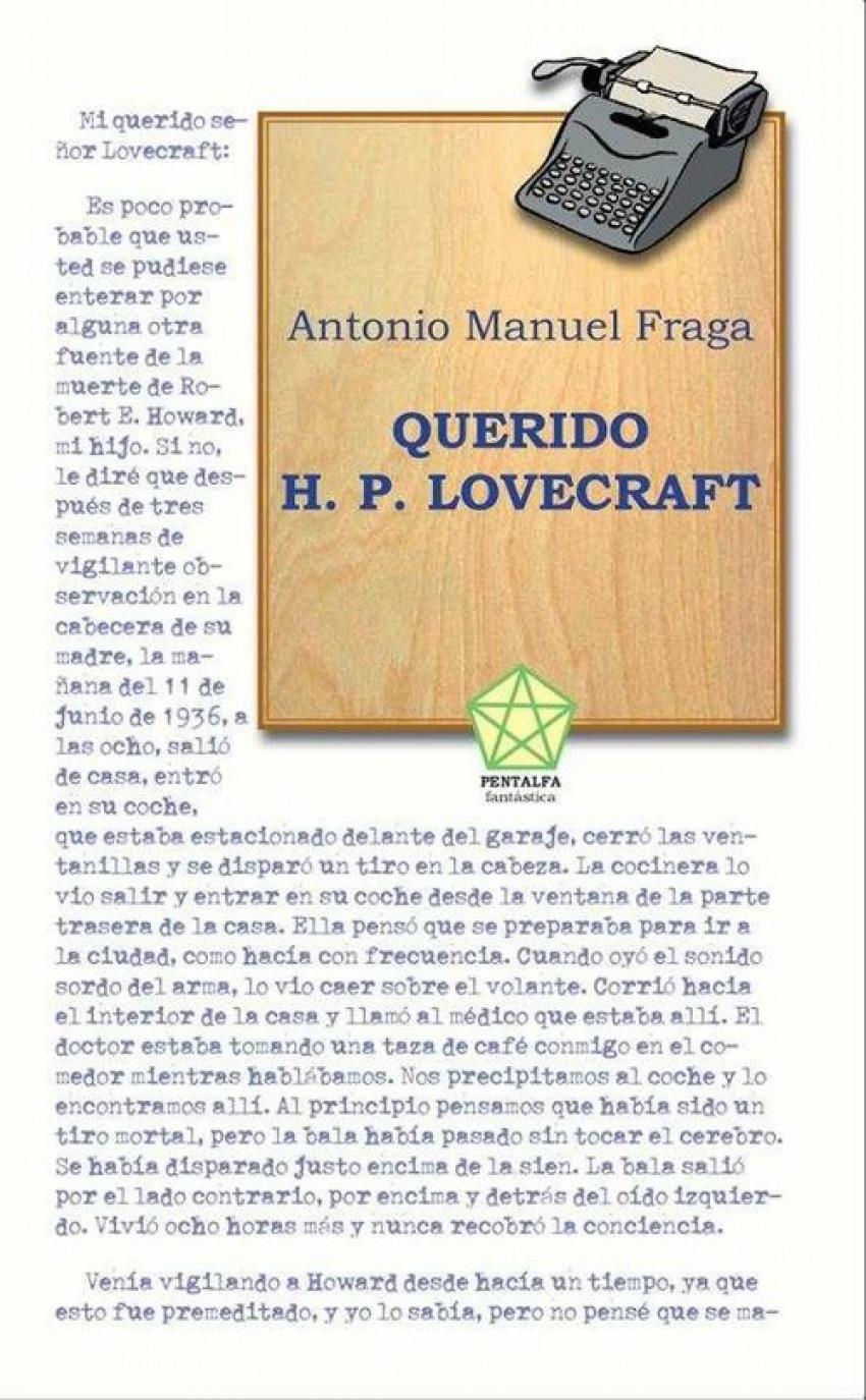 QUERIDO H.P.LOVECRAFT