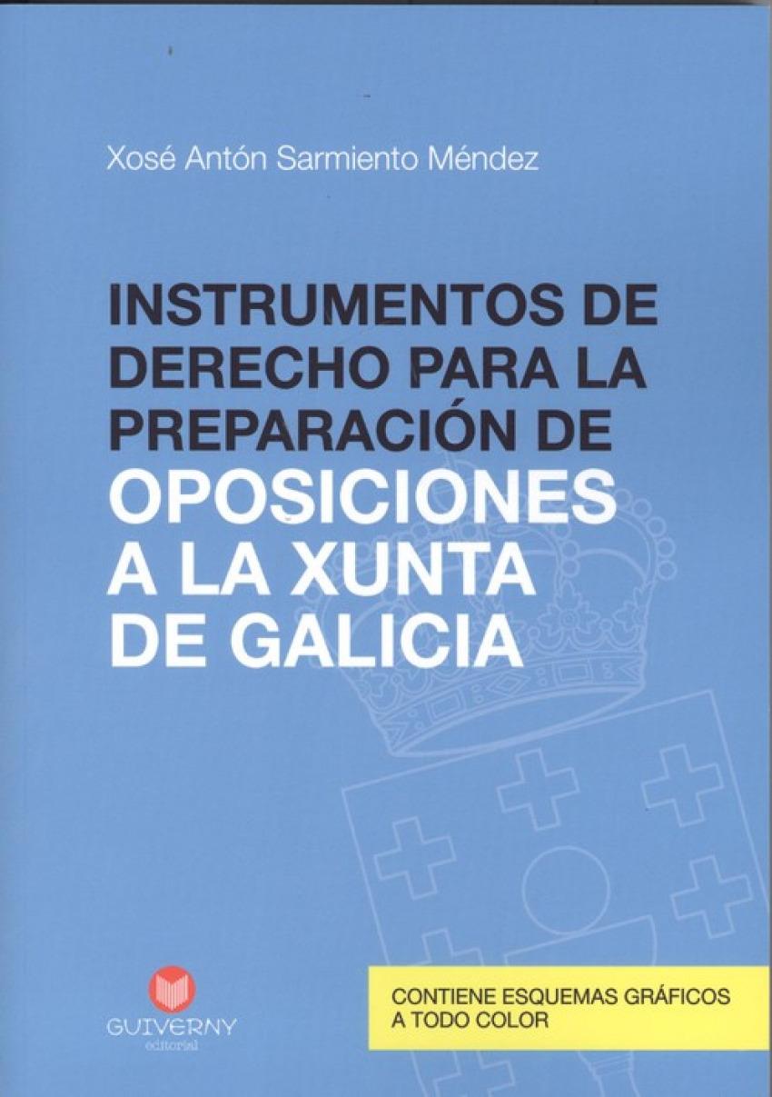 INSTRUMENTOS DE DERECHO PARA LA PREPARACION DE OPOSICIONES A LA XUNTA DE GALICIA
