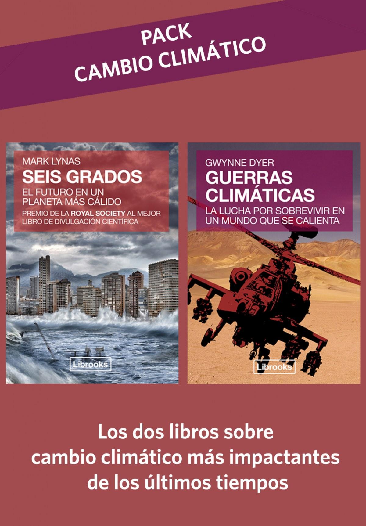 PACK CAMBIO CLIMÁTICO: SEIS GRADOS + GUERRAS CLIMáTICAS