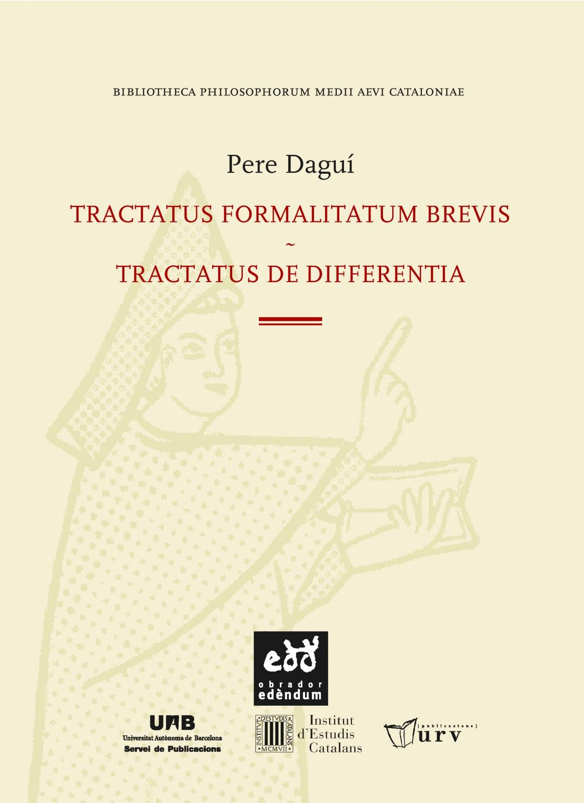 TRACTATUS FORMALITATUM BREVIS. TRACTATUS DE DIFFERENTIA
