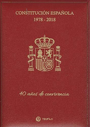 ESTUCHE CONSTITUCIÓN ESPAÑOLA 1978-2018
