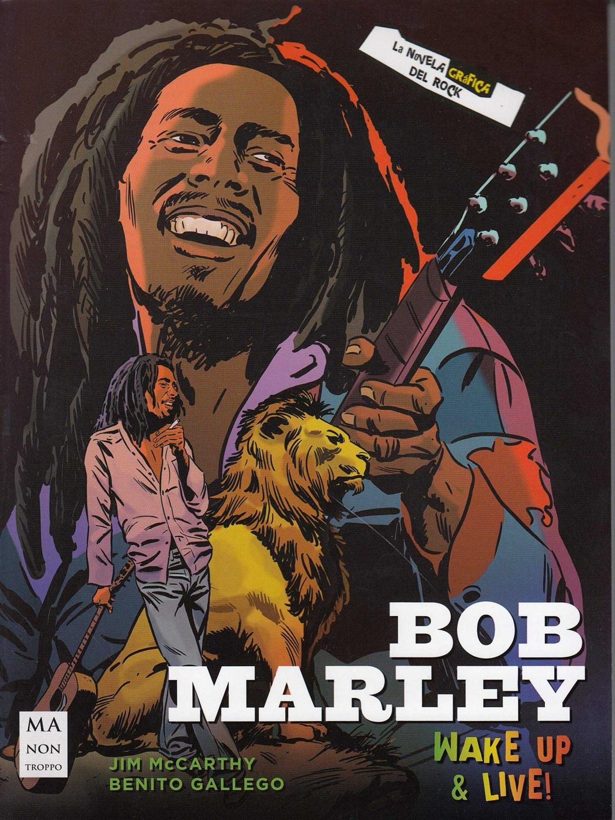 Bob Marley, la novela gráfica